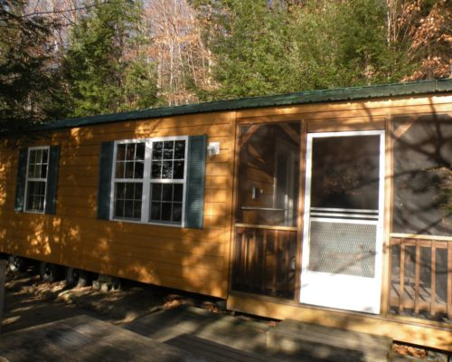 exterior photo of cabin